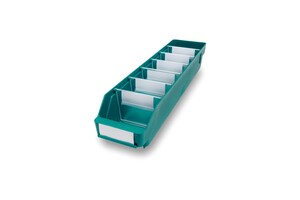 Lagerlåda 500x120x95 | Grön | 30 st