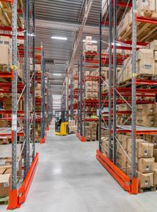 Grund- och påbyggnadssektion pallställ  2500-2750/3*500