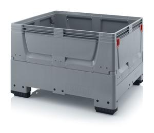 Fällbar plastcontainer 120x100x79 | 4 fötter