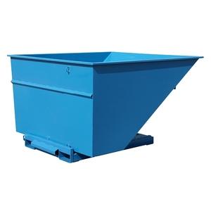 Tippcontainer med tryckplatta 3000 L