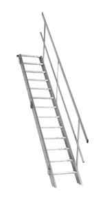 Räcke Byggtrappa 6-steg