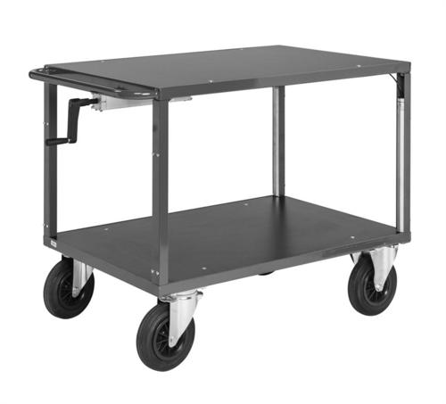 Höj- och sänkbar bordsvagn