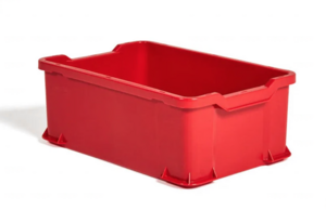 Plastback | 600x400x225mm | Röd