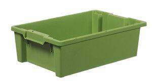 Stapelbar plastback 32 L   600x400x180 mm   Grön