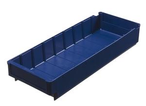 Lagerlåda 500x188x80 mm | Blå | 5 st