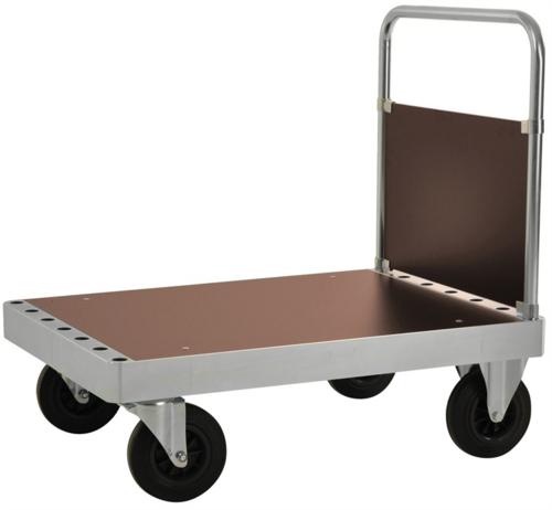 Platåvagn med gavel | Max 800 kg