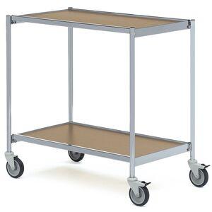 Rullbord utan handtag 800x420 Grå/Ek-Björk