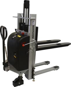 Elektrisk staplare, LH 900 mm, Kap 1000kg