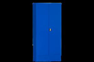 Dokumentskåp Flatpack 1850x900x400 mm, blå