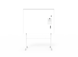 Dubbelsidig Whiteboard Creative Vit