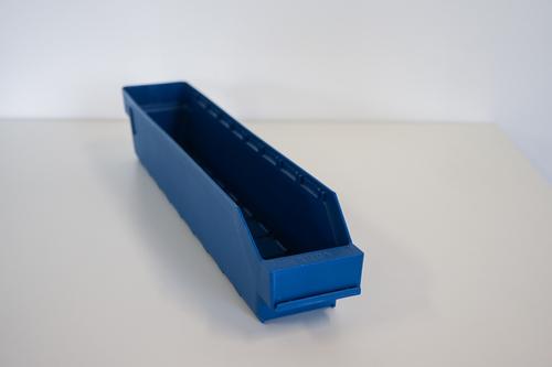 Begagnade Lagerlådor Blå |500x85x95 mm