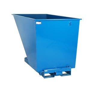 Tippcontainer med tryckplatta 1600 L