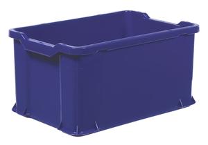 Plastback 600x400x300 mm | Blå