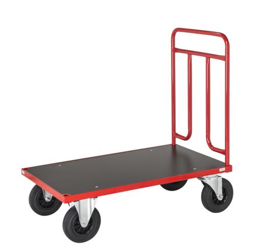 Plattformsvagn 500 | Grå/Röd