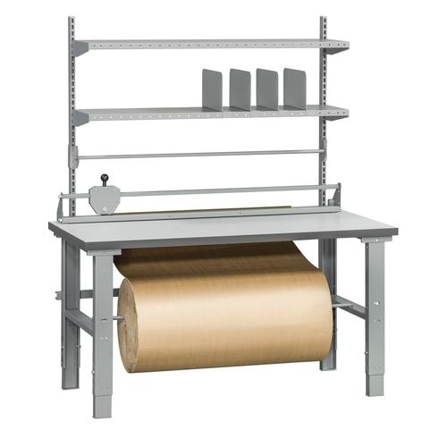 Packbord 500kg | Hyllor, rullhållare och skäraggregat