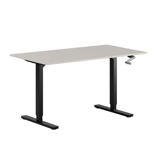 Höj- och sänkbart skrivbord med vev, StepUp 120S