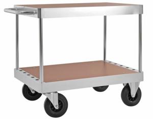 Bordsvagn, 900x600 mm, 2 plan