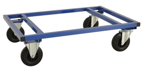 Låg pallvagn för helpall | Max 800 kg