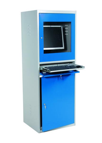Datorskåp, 545x645x1730 mm