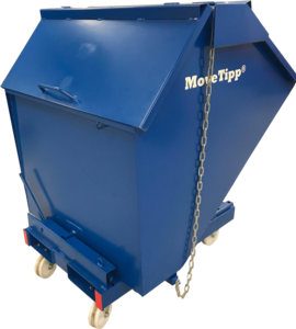 Tippcontainer med lock 400L