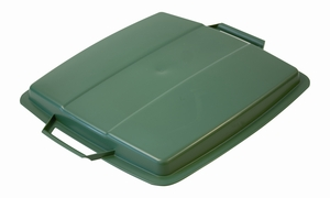 Lock till Plastkärl, 90 L, Grön