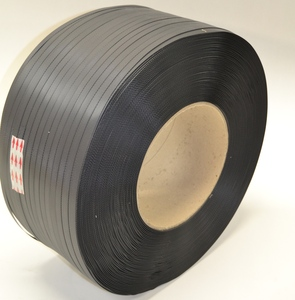 PP-band, 12x0,55 mm, kärna Ø 200 mm, 3000 m/rulle, 2-pack