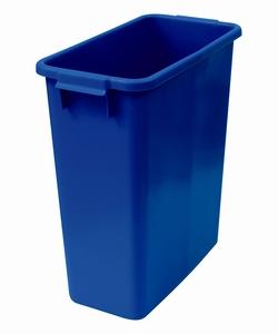 Plastkärl, 60 L, Blå