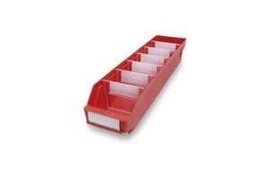 Lagerlåda 500x120x95 | Röd | 30 st