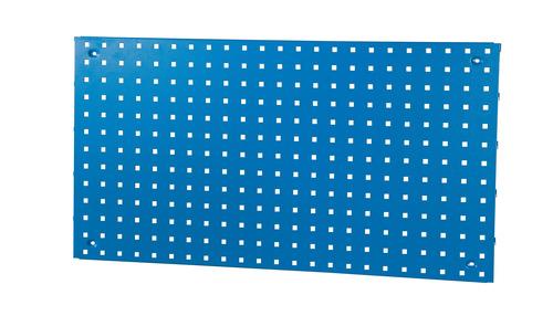 Perforerad verktygspanel i tre storlekar, blå