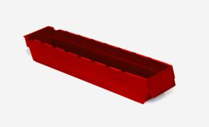 Lagerlåda 3L   500x94x80   Röd   50 st