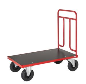 Plattformsvagn, 1200x700x1000 mm, Röd
