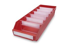 Lagerlåda 500x180x95 | Röd | 20 st