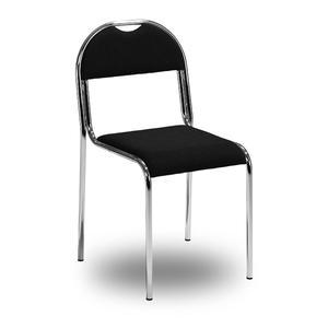 RX-stol, svart/krom
