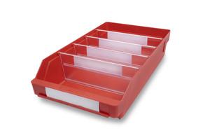 Lagerlåda 400x240x95 | Röd | 15 st