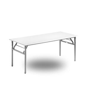Bord, Starko 1400 x 600 x 730 Silvergrå/Björk